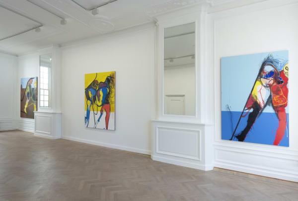 Shellshock: Daniel Richter @ Grimm, Amsterdam