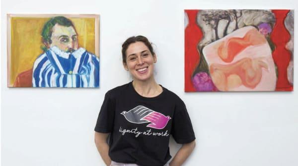 'One day, I wanted to make something': why Rosalind Nashashibi swapped her camera for canvas