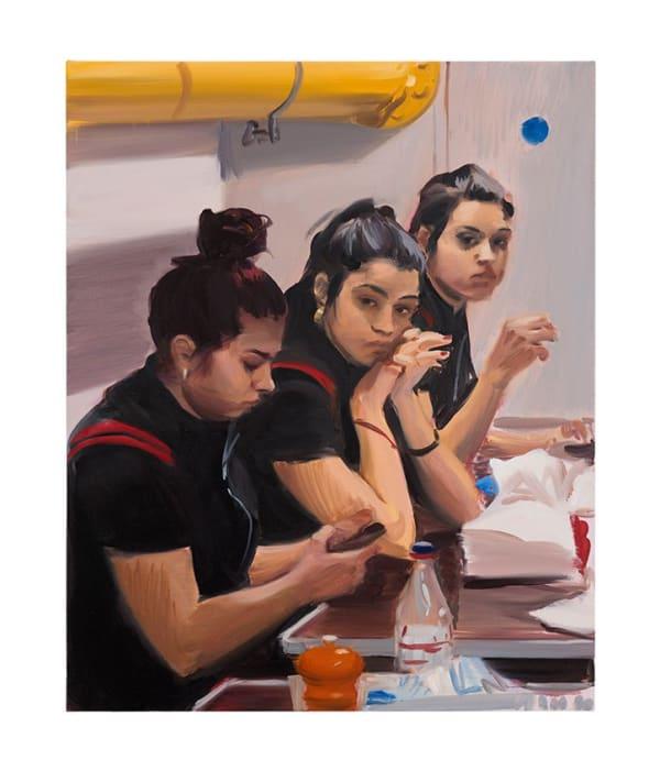 Caroline Walker paints the unseen women London's service industries
