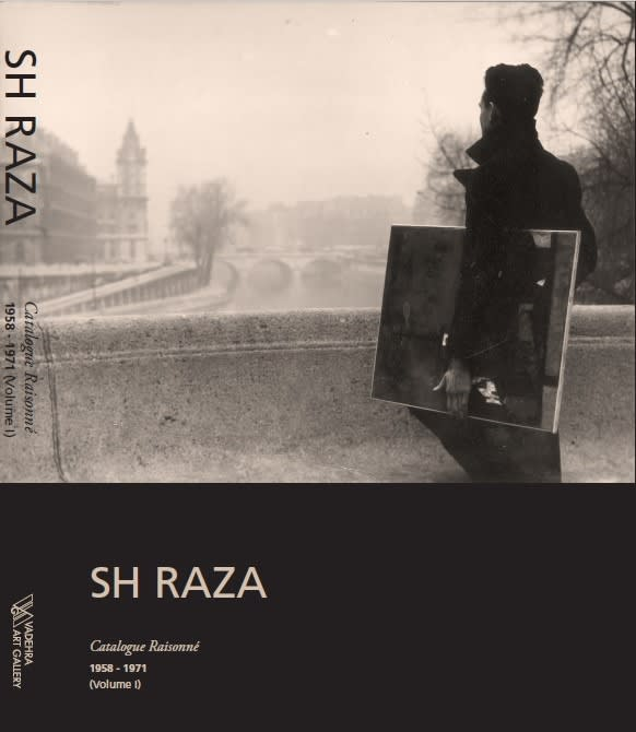 SH Raza, Catalogue Raisonne, 1958-1971