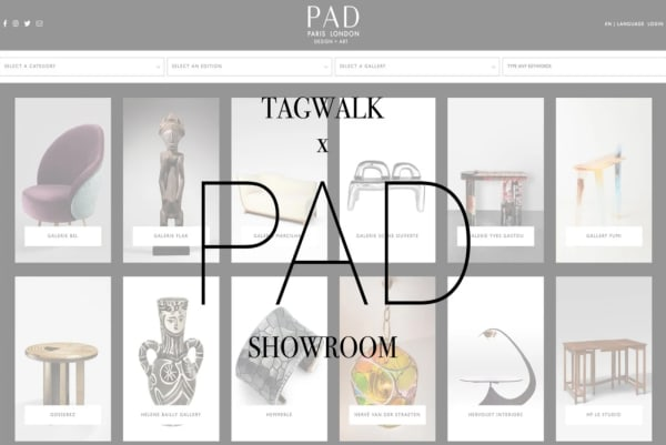 TAGWALK x PAD SHOWROOM