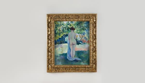 HENRI MANGUIN, Après le bain, Jeanne à Saint-Tropez