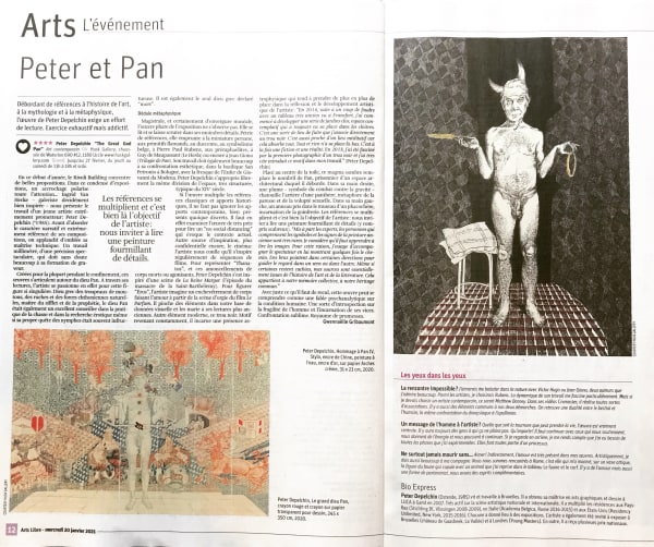 Article 'Peter et Pan'