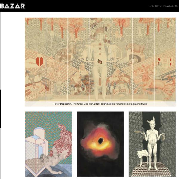 Article on Peter Depelchin in Bazar Magazin