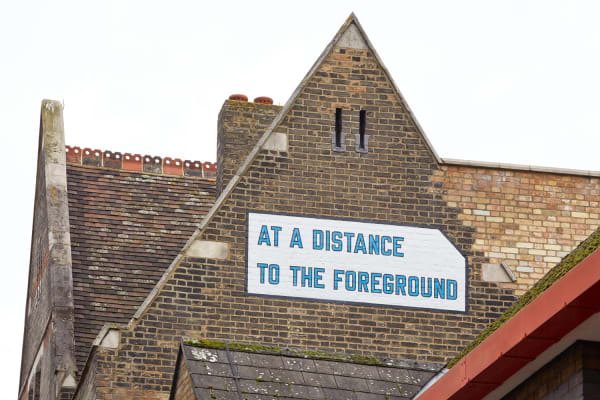 LAWRENCE WEINER: AT A DISTANCE TO THE FOREGROUND (1999)