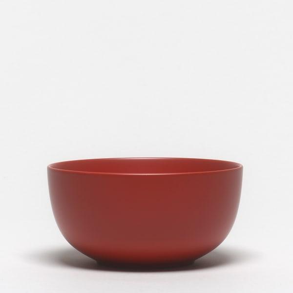 Toshikazu MACHIDA, #020486 Rote Lackschale, 2014