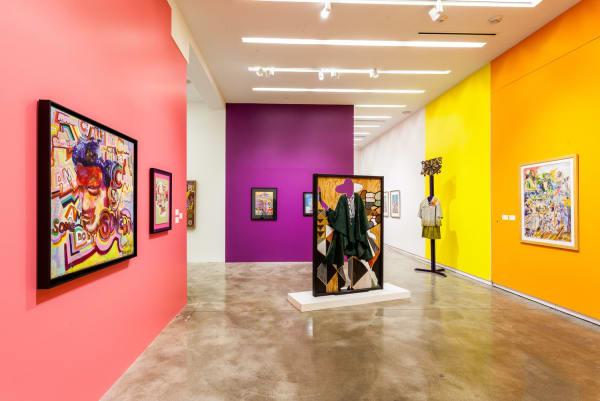 Installation View AFRICOBRA 50 at Kavi Gupta | Elizabeth St.