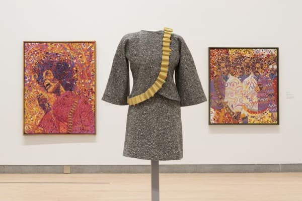 Wadsworth Jarrel and Jae Jarrell's work in Soul of a Nation at the Brooklyn Museum