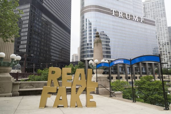 Real Fake, by Scott Reeder, Photograph: Jaclyn Rivas