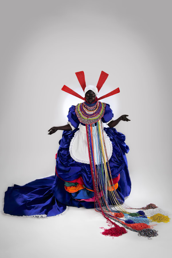 Mary Sibande, Her Majesty Queen Sophie, 2010