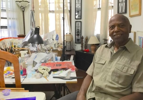 Gerald Williams at his home/studio on Chicago's South Side Photo Phillip Barcio