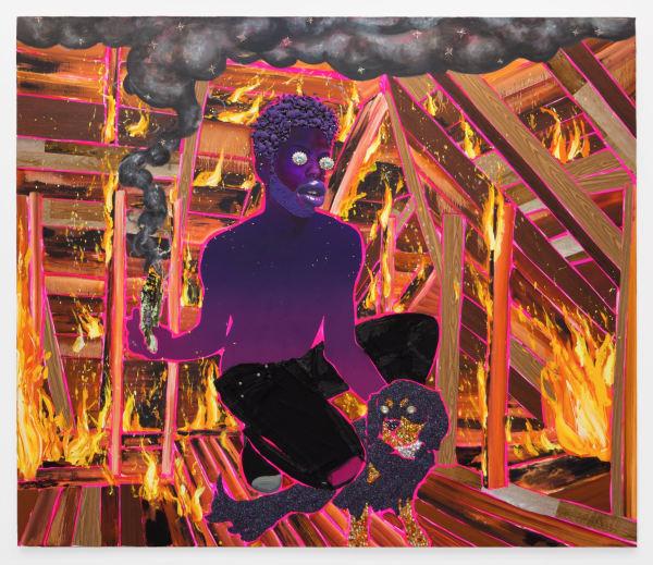 Devan Shimoyama, Smoke and Sage, 2019
