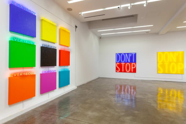 Deborah Kass: Painting and Sculpture (Installation view), Kavi Gupta   Elizabeth St., 2020