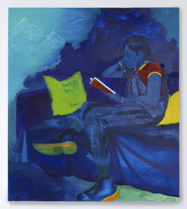 Blue Sugar baby (Moses in Blue) by Dominic Chambers Dominic Chambers
