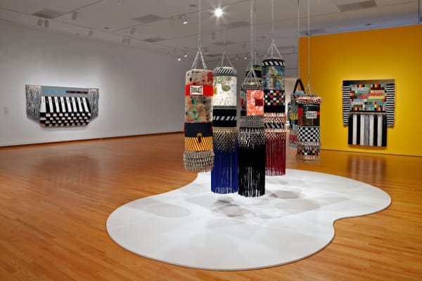 "Jeffrey Gibson, ""LIKE A HAMMER"", Seattle Art Museum, 2019"