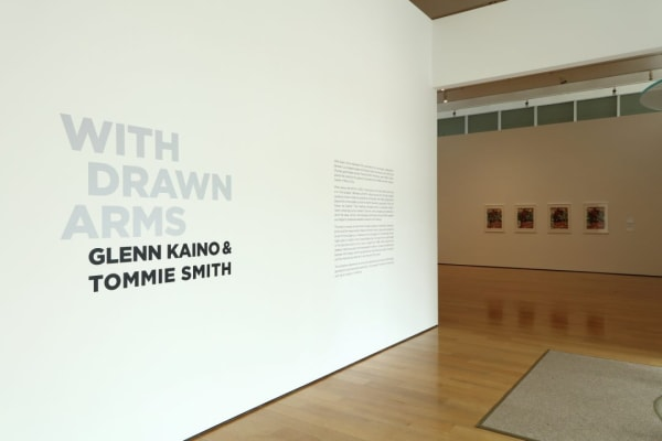 With Drawn Arms: Glenn Kaino & Tommie Smith, High Museum of Art, 2018