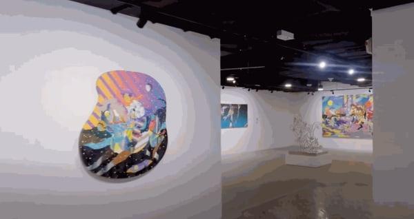 VIRTUAL VISIT Oh Magic Night A solo exhibition by Tomokazu Matsuyama