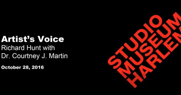 The Studio Museum in Harlem - The Artist's Voice: Richard Hunt