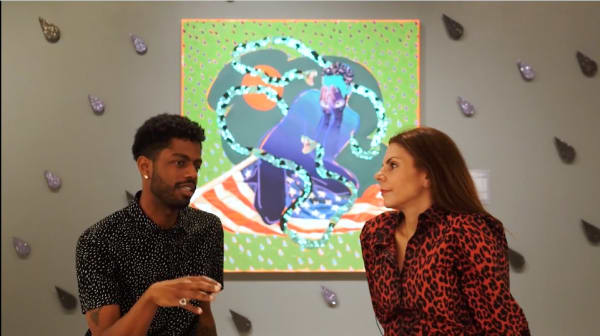 Devan Shimoyama in conversation with Mario Brito