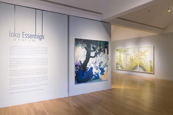 Inka Essenhigh: A Fine Line at the Virginia Museum of Contemporary Art