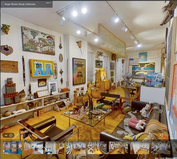 Roger Brown Study Collection In VR