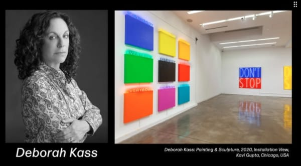 Deborah Kass in conversation about Painting & Sculpture