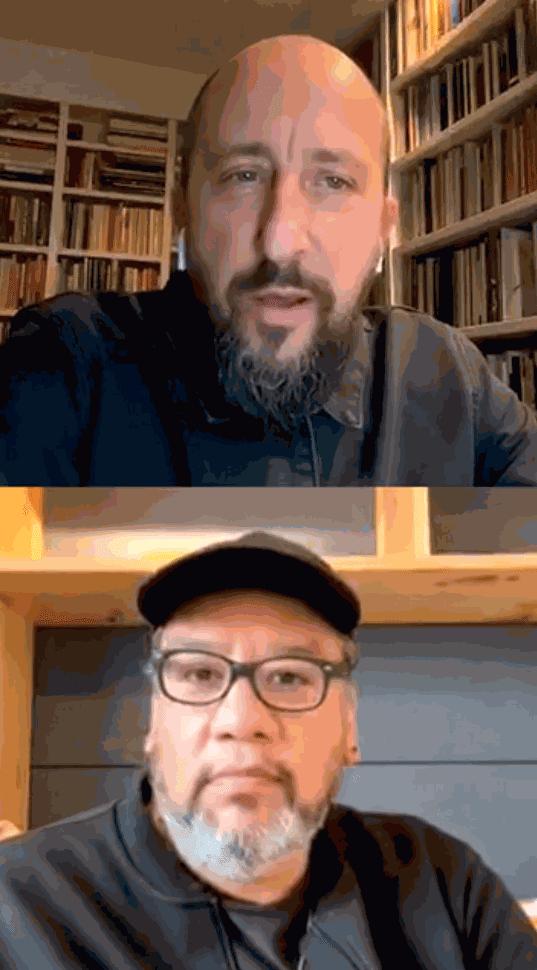 Jeffrey Gibson Daata Fair Live Instagram Q&A hosted by David Gryn