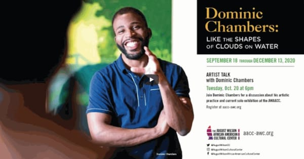 Dominic Chambers: Like the Shapes of Clouds on Water | Artist Talk
