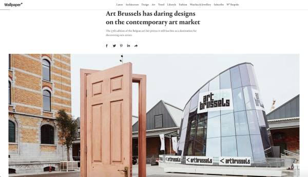 Art Brussels has daring designs on the contemporary art market