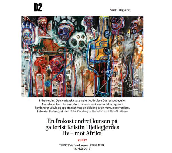 En frokost endret kursen på gallerist Kristin Hjellegjerdes liv – mot Afrika