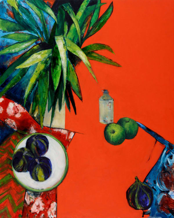 LIZ KNOX | Mind's Eye, Pure passion and colour abound in Liz Knox's extraordinary paintings