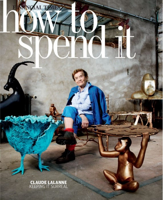 Two chances to step into Claude Lalanne's world...