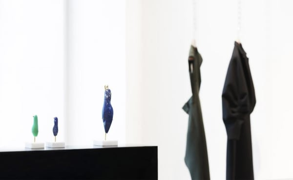 Emily Young's sculptures are on view until 5 October.