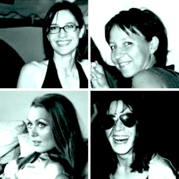 Agnes Kubiak, Aline Contencin, Kristine Oustrup and Genevieve Flaven
