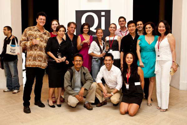 Qi Global team and speakers