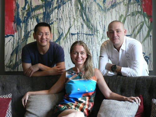 Botanical artist with Mamakan, Chef Ryan Clift and co-CEO (and artist) for Spa Esprit Group, Y/X aka Chua Koon Beng
