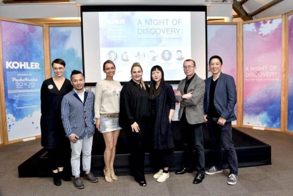 (from left) Narelle Yabuka, Aldwin Ong, Mamakan, Robbyn Carter, Olivia Lee, Joshua Judd and Lun Cheak Tan