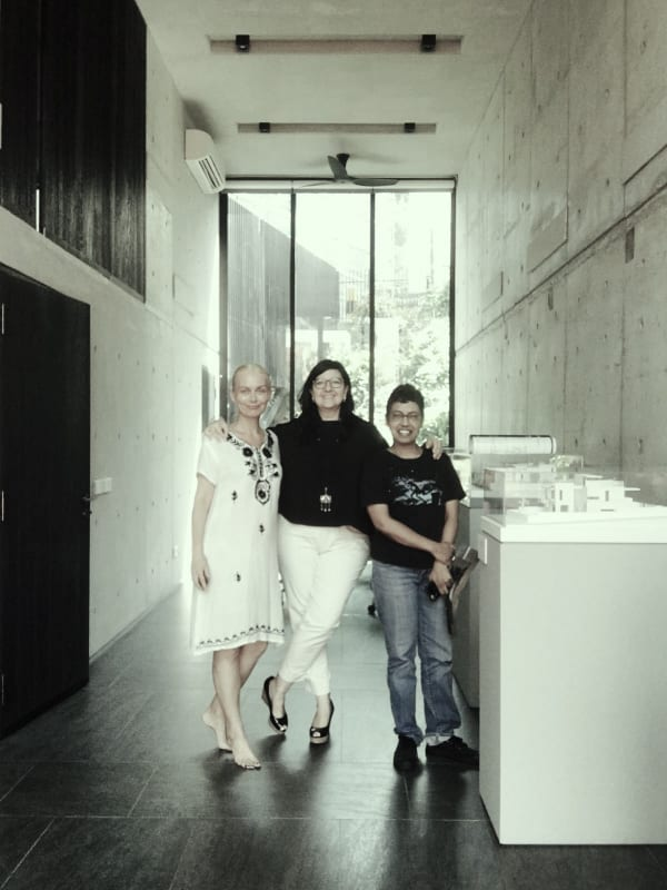 Mamakan with Maria Warner Wong of WOW Architects and Singapore Biennale Creative Director Dr Susie Lingham