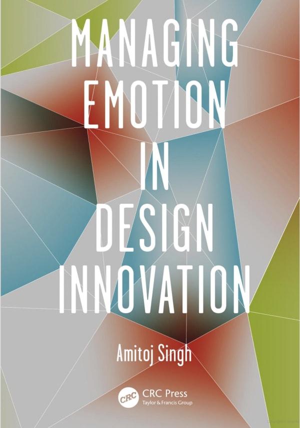 "Book cover ""Managing Emotion in Design Innovation"""
