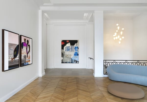 """""""J'ai Deux Amours"""" at Mariane Ibrahim Gallery Paris. Photography by Fabrice Gousset"""