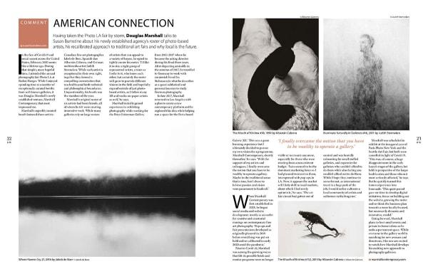 Courtesy of Black & White Photography Magazine (UK) November issue #246