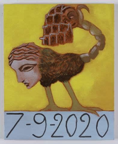 Les peintures de Francesco Clemente pendant le confinement
