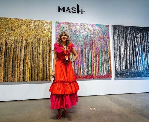 Mash Gallery Turned Heads at LA Art Show with Striking Art