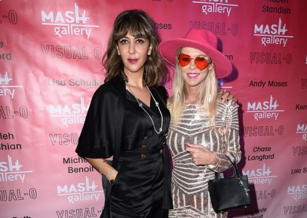 Owner of Mash Gallery Haleh Mashian and Tara Reid attend Visual-O Exhibition At Mash Gallery on August 21, 2021, in Los Angeles, California. (Photo by Vivien Killilea/Getty Images for Mash Gallery).