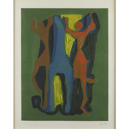 "<span class=""artist""><strong>Marino Marini</strong></span>, <span class=""title""><em>Marino From Goethe (Plate I)</em>, 1979</span>"