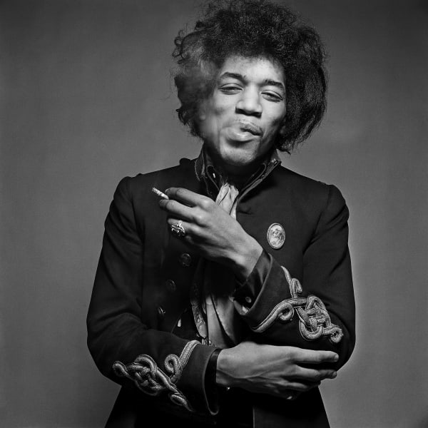 "<span class=""artist""><strong>Gered Mankowitz</strong></span>, <span class=""title""><em>Jimi Hat</em></span>"