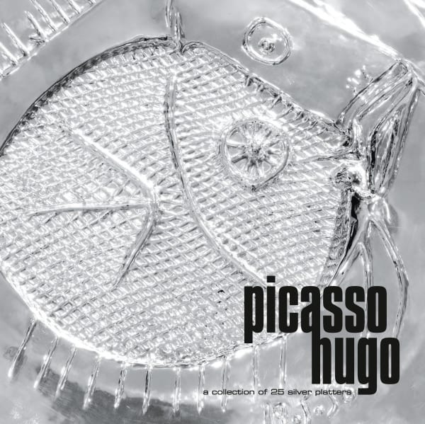 PICASSO/HUGO: a collection of 25 silver platters