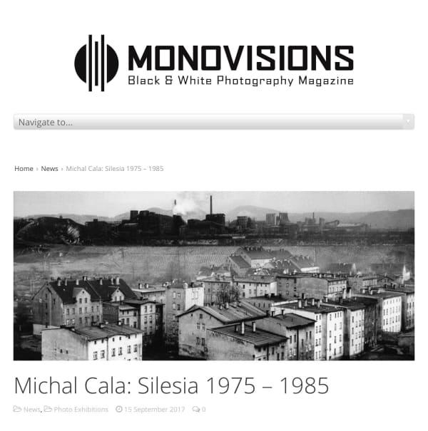 Monovisions, Michal Cala, Silesia 1975 - 1985, Exhibition Feature