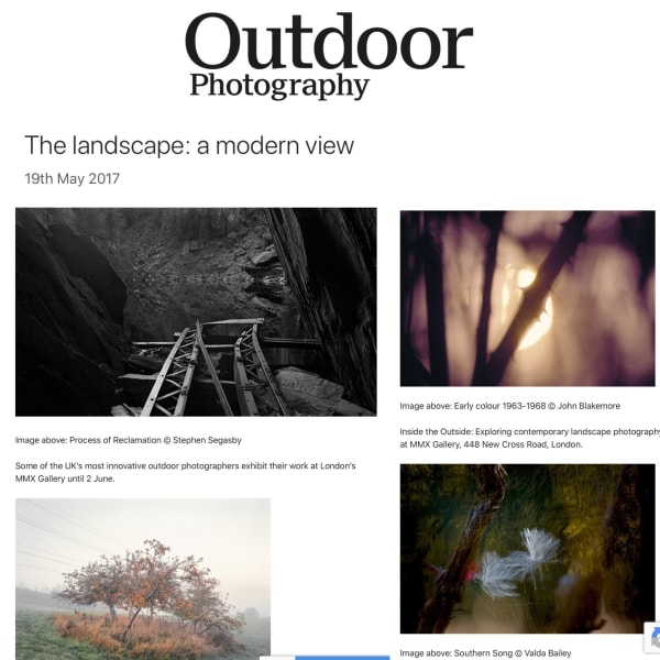Outdoor Photography | The landscape: a modern View - Exhibition feature
