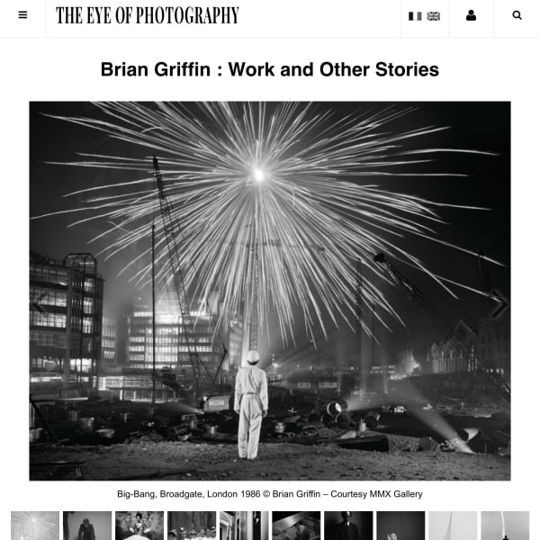 Brian Griffin: Work and Other Stories, Exhibition Listing and images